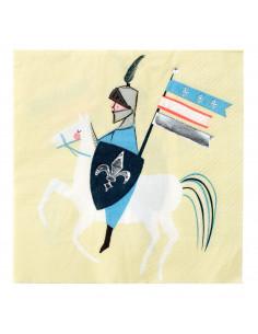 16-petites-serviettes-chevaliers-et-dragons-meri-meri-decoration-anniversaire-chevalier