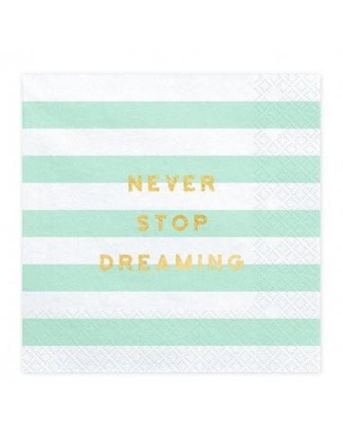serviettes-rayures-vert-menthe-et-blanches-ecritures-dorees-deco-baby-shower-bapteme-anniversaire-mariage-evjf-pastel