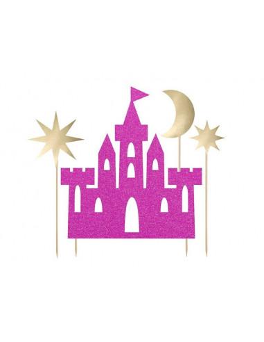 decoration-gateau-princesse-decoration-gateau-chateau-cake-topper