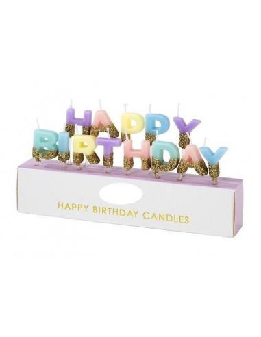 bougies-anniversaire-happy-birthday-pastel-dorees-deco-gateau-anniversaire