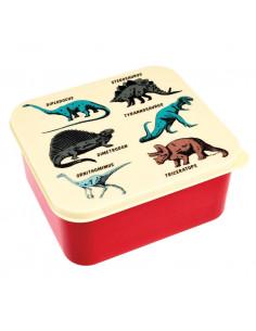 Grande boite à gouter dinosaures