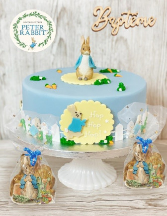 Baptême Lapin Miffy