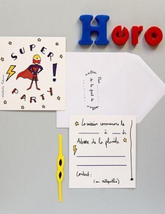 Papeterie, Invitations, Stickers Anniversaire Garçon